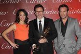 Berenice Bejo, Michel Hazanavicius, Jean Dujardin — Stock Photo