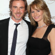������, ������: Sam Trammell with wife
