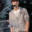 Justin Bieber  at Michael Jackson Immortalized at Grauman's Chinese Theatre, Hollywood, CA 01-26-12 — Stock Photo