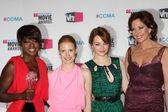 Viola Davis, Jessica Chastain, Emma Stone, Allison Janney — Stock Photo