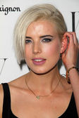 Agyness Deyn at the W Magazine Best Performances Issue Golden Globes Party, Chateau Marmont, West Hollywood, CA 01-13-12 — Stock Photo