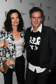 Balthazar Getty and wife at the W Magazine Best Performances Issue Golden Globes Party, Chateau Marmont, West Hollywood, CA 01-13-12 — Stock Photo
