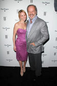 Kayte Walsh, Kelsey Grammer at the W Magazine Best Performances Issue Golden Globes Party, Chateau Marmont, West Hollywood, CA 01-13-12 — Stock Photo