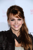 Aimee Teegarden at the 8th Annual Teen Vogue Young Hollywood Party, Paramount Studios, Hollywood, CA. 10-01-10 — Stock Photo