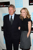 "Harrison Ford and Calista Flockhart at the ""Peace Over Violence"" 39th Annual Humanitarian Awards, Beverly Hills Hotel, Beverly Hills, CA. 10-29-10 — Stock Photo"