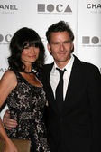 Rosetta Getty and Balthazar Getty — Stock Photo