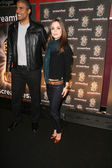 Rick Fox and Eliza Dushku — Stock Photo
