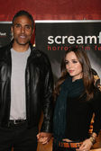 Rick Fox and Eliza Dushku — Stock Photo