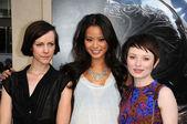 Jena Malone, Jamie Chung, Emily Browning — Zdjęcie stockowe