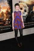 """Emily Browning at the """"Legend Of The Guardians"""" World Premiere, Chinese Theatre, Hollywood, CA. 09-19-10 — Foto de Stock"""