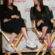 Khloe Kardashian and Kim Kardashian  at a press conference to announce a Global Partnership With Kim Kardashian And Kris Jenner, Beverly Wilshire, Beverly Hills, CA. 11-22-10 - Foto Stock
