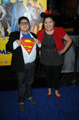 Rico Rodriguez and Raini Rodriguez — Stock Photo