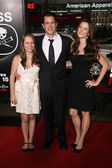 "Johnny Knoxville and family at the premiere of ""Jackass 3D,"" Chinese Theater, Hollywood, CA. 10-13-10 — Stock Photo"