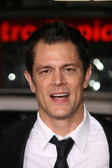 "Johnny Knoxville at the premiere of ""Jackass 3D,"" Chinese Theater, Hollywood, CA. 10-13-10 — Stock Photo"