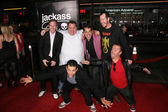 "Spike Jonze, Preston Lacy, Jeff Tremaine, Ehren McGhehey, Steve O and Jason ""Wee Man"" Acuna — Stock Photo"