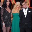 Постер, плакат: Cher and Christina Aguilera and Steve Antin