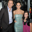 Stock Photo: Tony Goldwyn, Hilary Swank and Bailee Madison