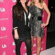Kyle Richards and Nicky Hilton — Stock Photo