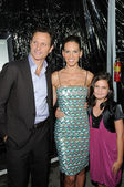 Tony Goldwyn, Hilary Swank and Bailee Madison — Stock Photo