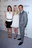 Sofia Coppola, Stephen Dorff and Elle Fanning — Stock Photo