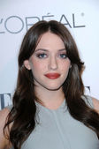 Kat Dennings at the 17th Annual Women in Hollywood Tribute, Four Seasons Hotel, Los Angeles, CA. 10-18-20 — Stock Photo
