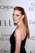 Jessica Chastain at the 17th Annual Women in Hollywood Tribute, Four Seasons Hotel, Los Angeles, CA. 10-18-20 — Stock Photo