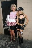 瑞纳 riffel 和宝拉 labaredas — 图库照片