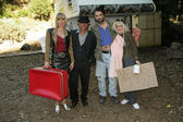 田中丽奈里,克林顿华莱士和门房 pharriss · 诺尔斯 — 图库照片