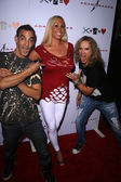 Adam Saaks, Mary Carey, Michael Starr at the Adam Saaks Flagship Store Opening, Adam Saaks Store, Los Angeles, CA. 10-10-10 — Stock Photo