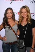 Anya Monzikova and Natasha Alam — Stock Photo