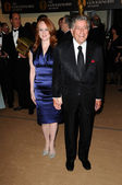 Tony Bennett and Antonia Bennett — Stock Photo