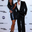 Brandy Norwood, Maksim Chmerkovskiy — Stock Photo