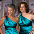 "Stock Photo: Jamie Lee Curtis and Sigourney Weaver at ""You Again"" Los Angeles Premiere, El CapitTheater, Hollywood, CA. 09-22-10"