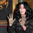 Stock Photo: Cher at Cher's Hand and Footprint Ceremony, Grauman's Chinese Theatre, Hollywood, CA. 11-18-10