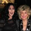 Stock Photo: Cher and mom GeorgiHolt