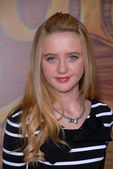 Kathryn Newton at the Tangled World Premiere, El Capitan Theatre, Hollywood, CA. 11-14-10 — Stock Photo