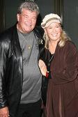 Diane Ladd and husband — Stock Photo
