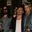 30 Seconds to Mars  at the 2010 MTV Video Music Awards Press Room, Nokia Theatre L.A. LIVE, Los Angeles, CA. 08-12-10 — Stock Photo