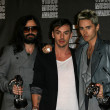 30 Seconds to Mars  at the 2010 MTV Video Music Awards Press Room, Nokia Theatre L.A. LIVE, Los Angeles, CA. 08-12-10 - Foto Stock