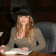 "Hilary Duff  at an in-store appearance to sign copies of her novel ""Elixir,"" Barnes & Noble, Los Angeles, CA. 10-19-10 — Stock Photo"