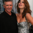 Stock Photo: Alan Thicke and wife Tanya at the induction ceremony for Bill Maher into the Hollywood Walk of Fame, Hollywood, CA. 09-14-10