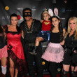 Stock Photo: AlexiUmansky, Kyle Richards, Mauricio Umansky, PortiUmansky, SophiUmansky, Kim Richards at sCare Foundations 2nd Annual Halloween Benefit Event, CongRoom, Los Angeles, C10-28-12