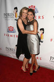 Felicity Huffman and Eva Longoria Parker at the Padres Contra El Cancer 25th Anniversary Gala, Hollywood Palladium, Hollywood, CA. 09-23-10 — Stock Photo