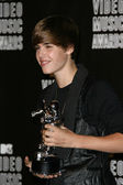 Justin Bieber at the 2010 MTV Video Music Awards Press Room, Nokia Theatre L.A. LIVE, Los Angeles, CA. 08-12-10 — Foto de Stock