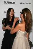 Jessica Biel and Eva Mendes at Glamour Reel Moments, Directors Guild Theater, Los Angeles, CA 10-25-10 — Stock Photo