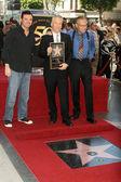 Seth macfarlane, bill maher et larry king — Photo