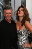 Alan Thicke and wife Tanya at the induction ceremony for Bill Maher into the Hollywood Walk of Fame, Hollywood, CA. 09-14-10 — Stock Photo