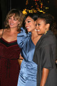 Zoe Bell, Rosario Dawson and Tracie Thoms — Stock Photo
