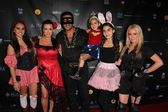 Alexia Umansky, Kyle Richards, Mauricio Umansky, Portia Umansky, Sophia Umansky, Kim Richards at sCare Foundations 2nd Annual Halloween Benefit Event, Conga Room, Los Angeles, CA 10-28-12 — Stock Photo