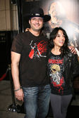 Robert Rodriguez and Michelle Rodriguez — Stock Photo